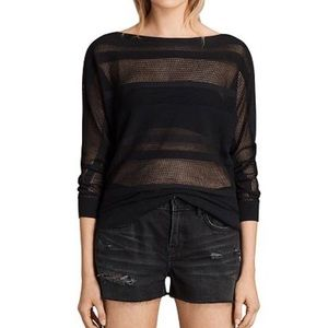 ALLSAINTS Springs Boat Neck Sweater Size Small